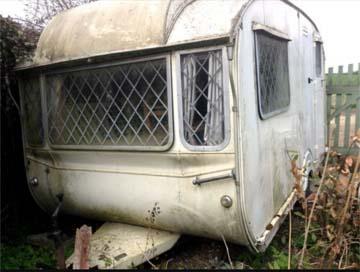 how to get rid of old caravan